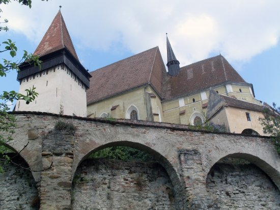 Biertan - the Largest Peasant Fortress in Transylvania