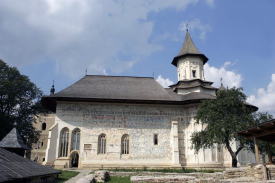 The Probota Monastery - the Family Necropolis of Prince Petru Rareș